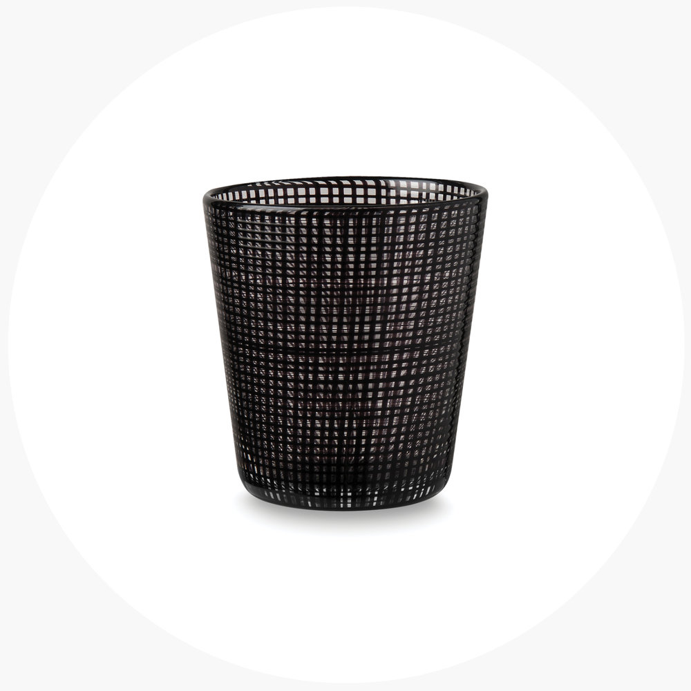 6   vessel for water   .  grid tumbler  $99.90 S/4