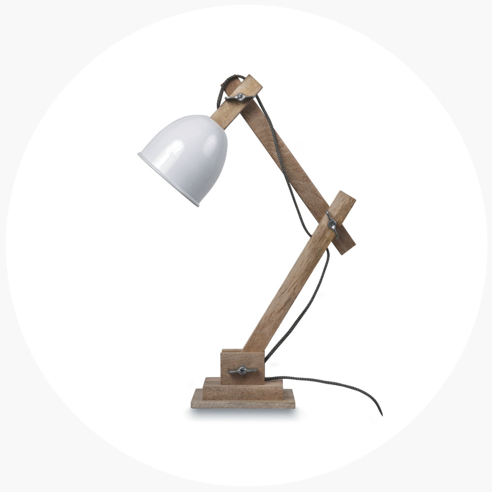 1   soft reading light   .  guarida table lamp $239.90
