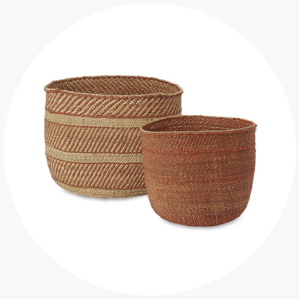 2 . iringa baskets $263.00