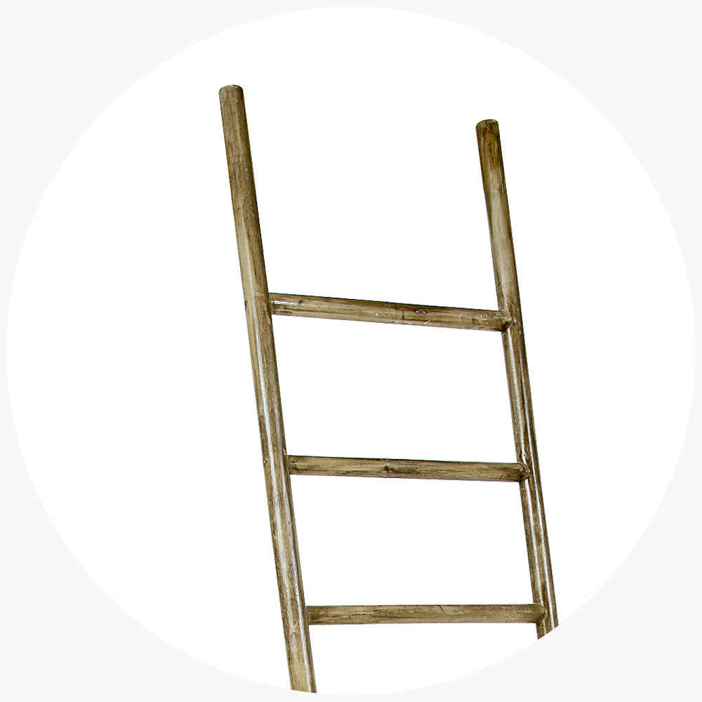 6 .  rattan ladder from $109.00