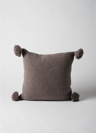 Marl Knitted Wool Blend Cushion  Date  | $69.90