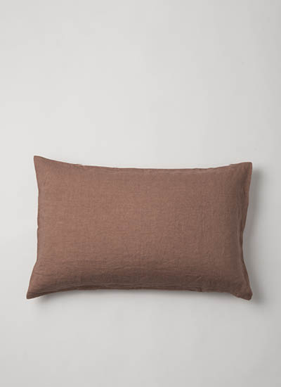 Sove Linen Pillowcase  Nutmeg  | $69.90