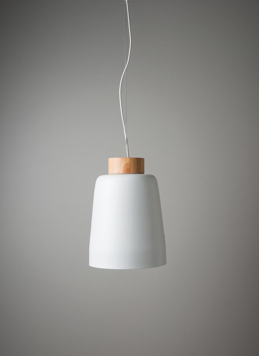 White Ombra Pendant Light $299