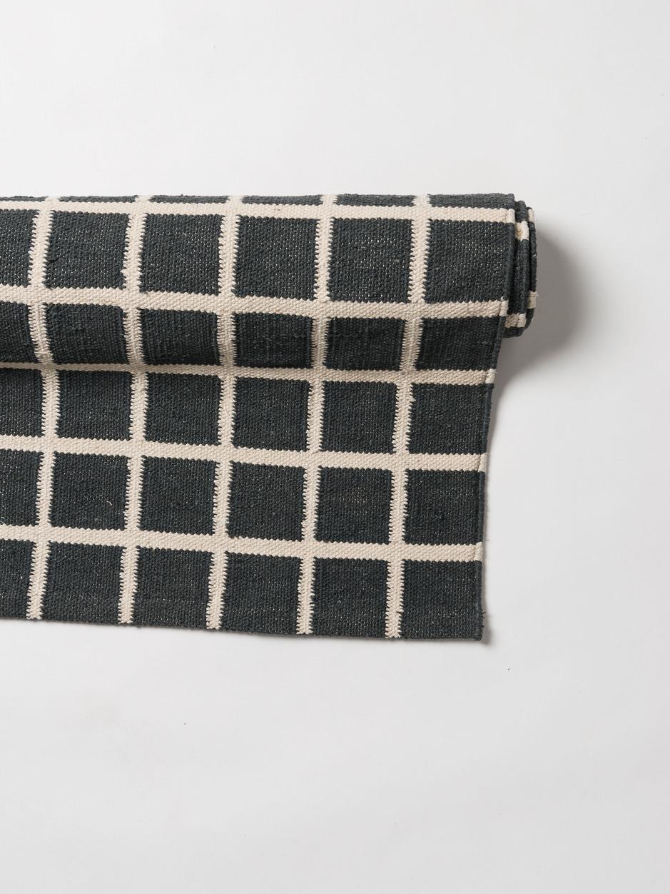 Net Hand Woven Cotton Rug $459.00