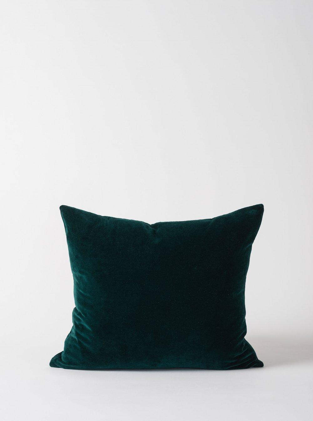 Cotton Velvet Cushion $44.90