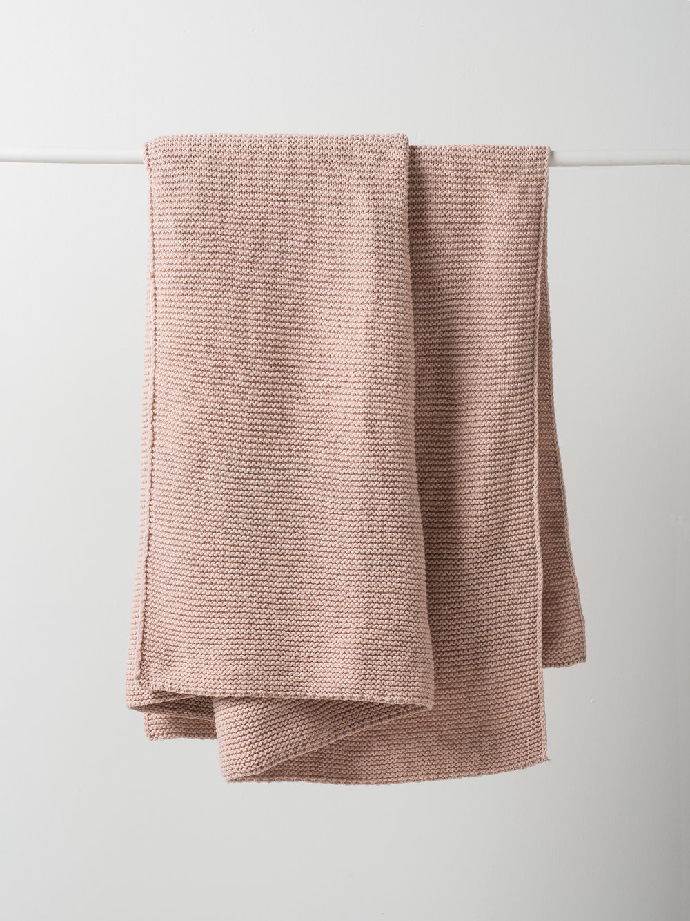 Purl Knit Wool Throw $239.00
