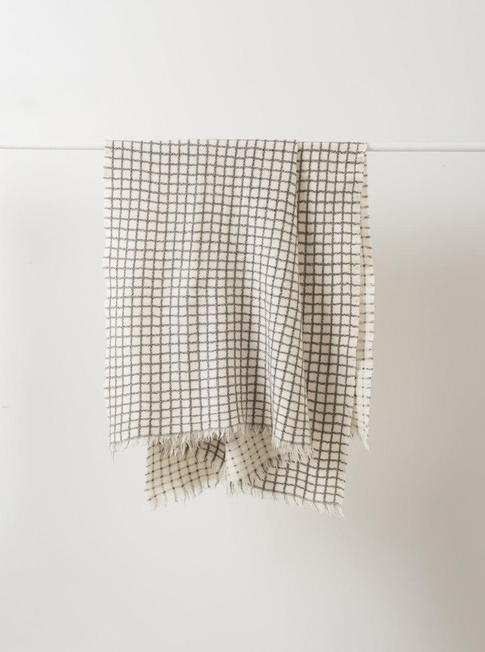 Grid Wool Throw $179.00