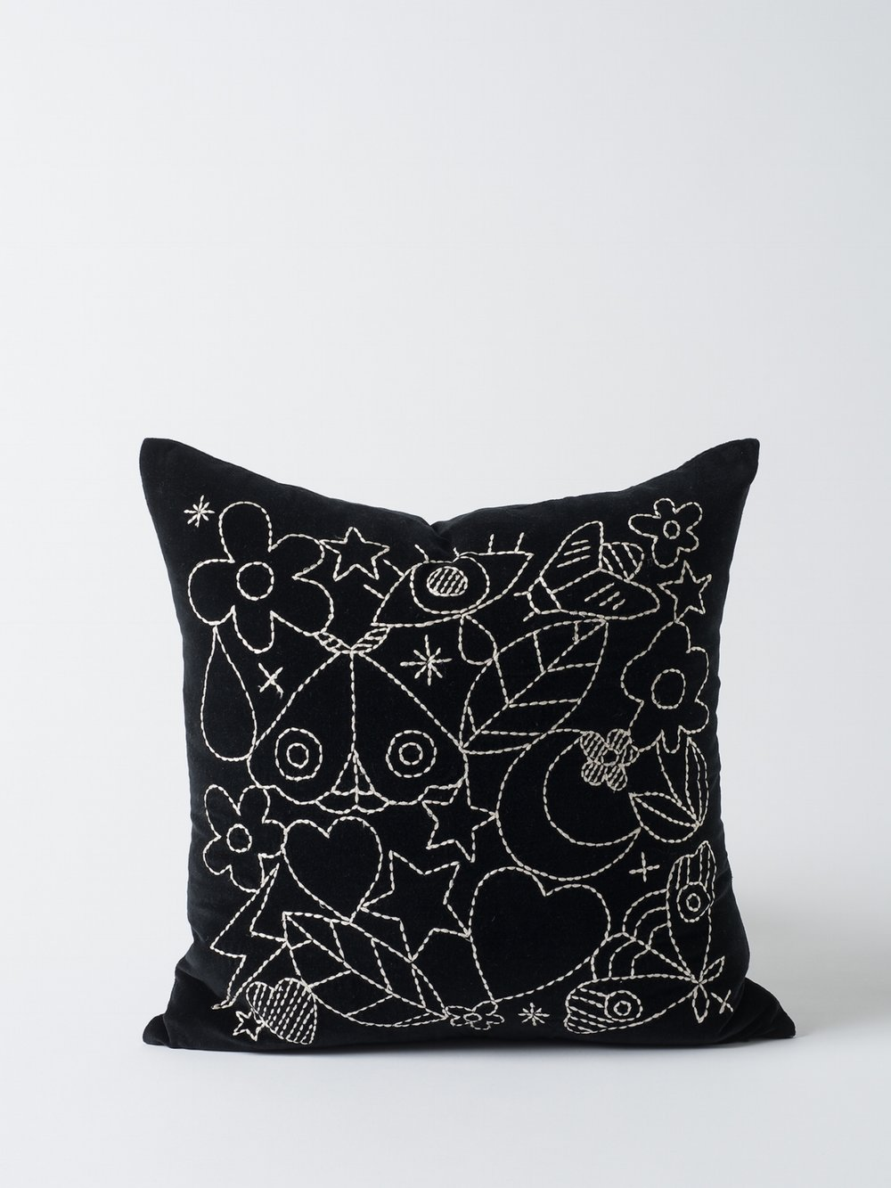 Dreamers Embroidered Cushion Cover $79.90