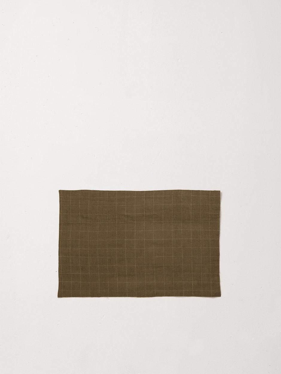 Dine Grid Linen Placemat $19.90