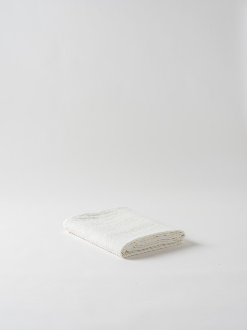 Dine Linen Tablecloth - Ecru $159