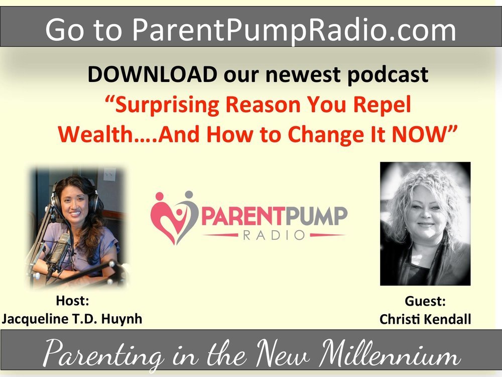 LISTEN TO Christi's INTERVIEW WITH JACQUELINE T.D. HUYNH ON PAREnt PUMP RADIO