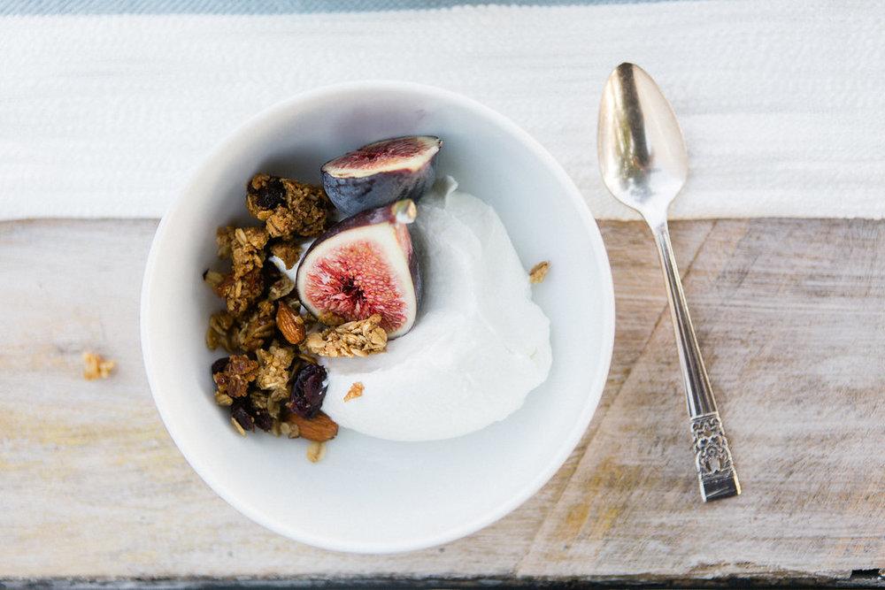 a delicious dairy free yogurt -