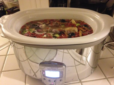 Bone broth crock pot