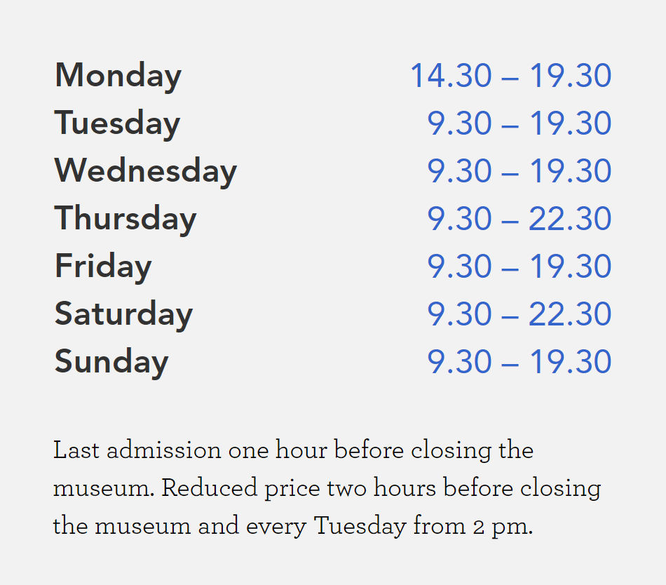Museo_900_Hours