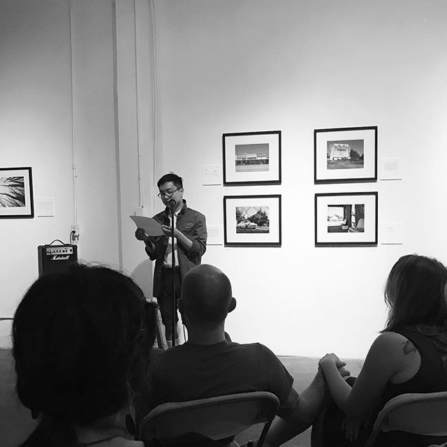 Reading with @chenchenwrites & Chloe Honum & Stevie Edwards in #dallas was a dream come true. Huge thanks to @elboiler_engineer & @fiveglue for having me :)