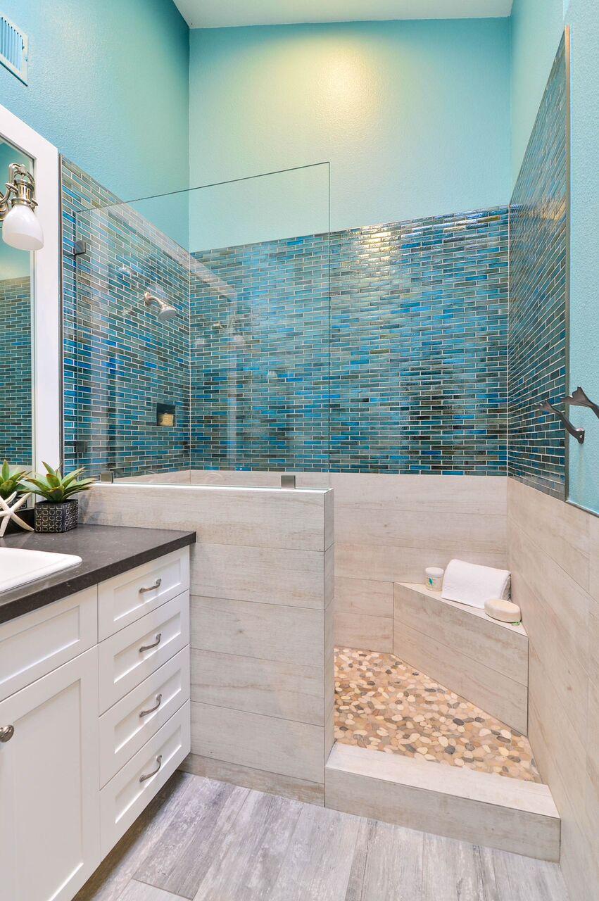 Carlsbad Ocean Beach Bathroom Remodel