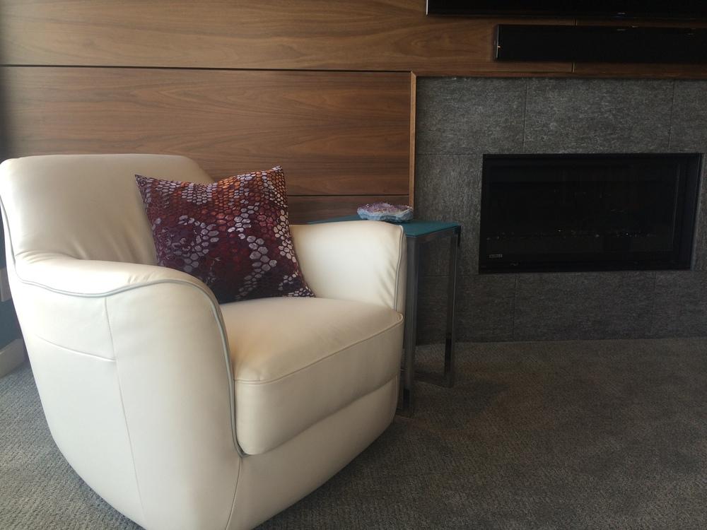 Condo Sized Furniture   Modern Walnut Wall