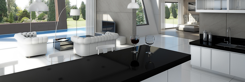 New trends in countertops signature designs kitchen bath for Porcelain countertops cost