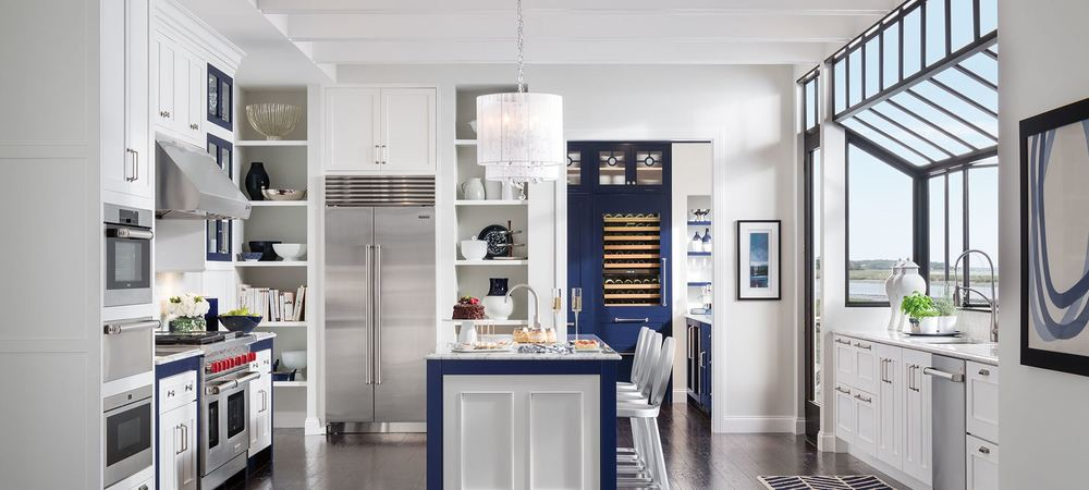 Medallion Cabinetry - Loxley White Icing Cabinetry