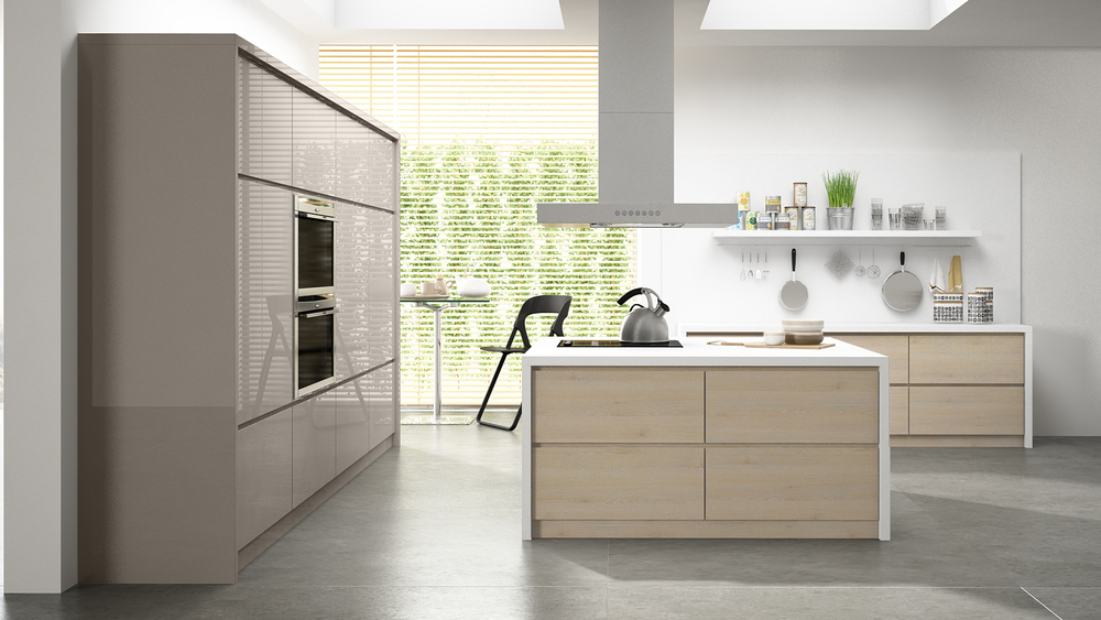 European Cabinets Made In American With High Tech Precise