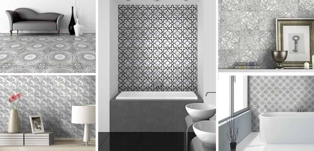 A New Breed Of Designer Tiles Signature Designs Kitchen Bath