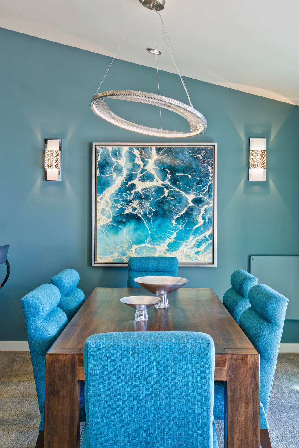 SOLANA BEACH DINING ROOM SIGNATURE DESIGNS BONNIE BAGLEY CATLIN