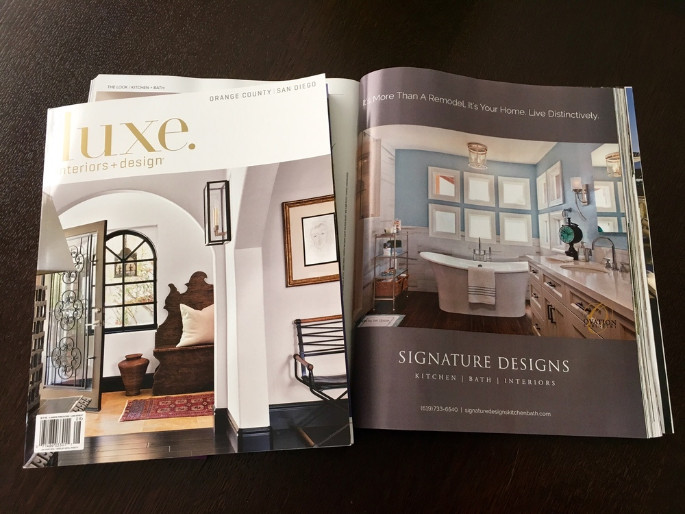 Luxe Interiors Design Magazine San Diego Orange County