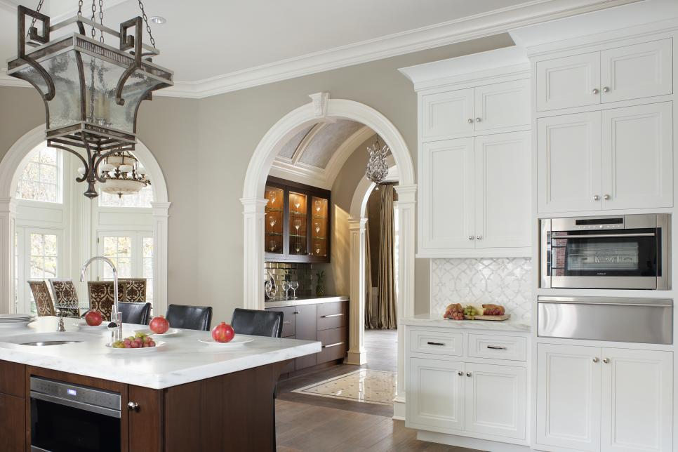 Whats Hot In Kitchen Design Signature Designs Kitchen Bath - Accent color for grey and white kitchen
