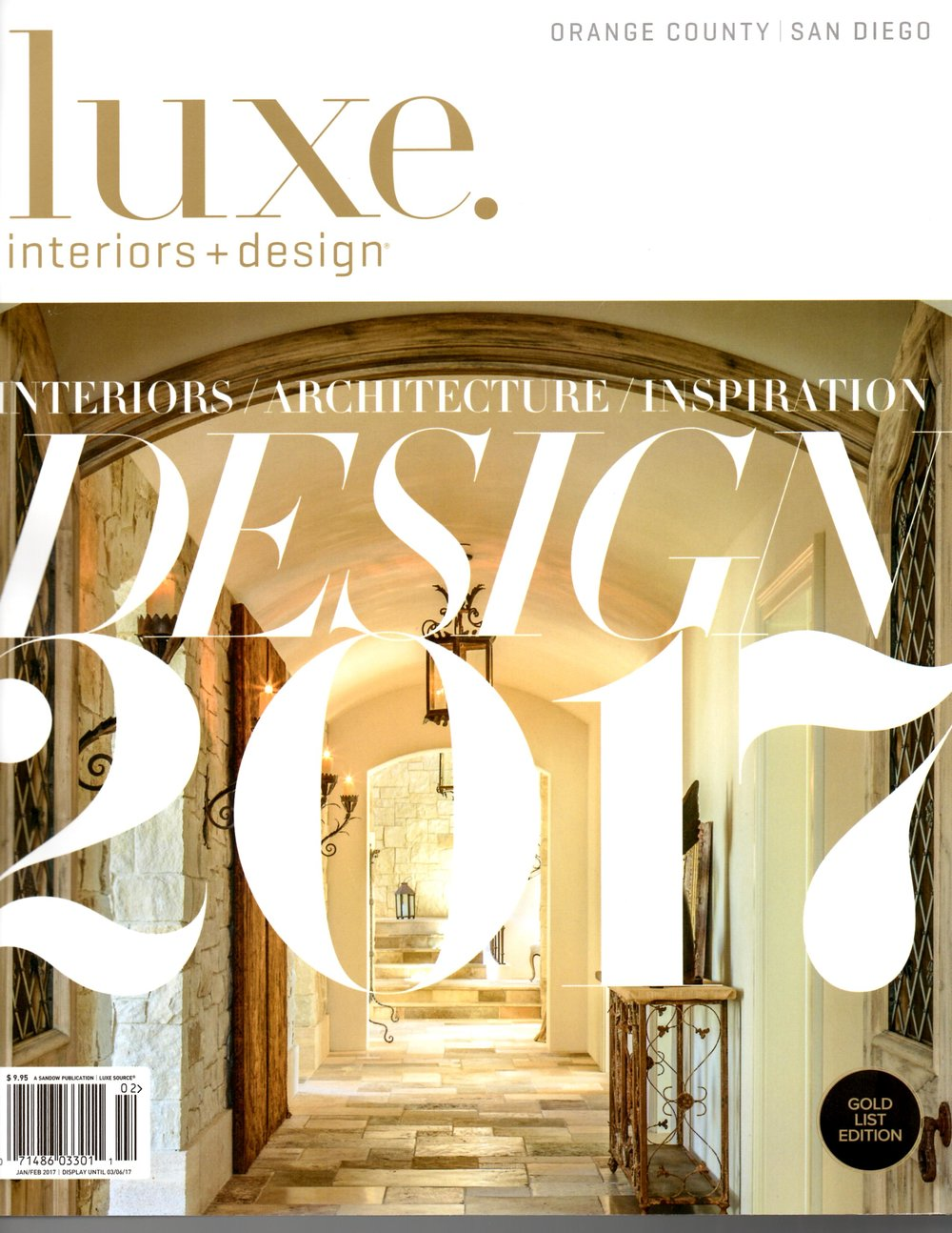 Luxe Magazine Gold List Edition 2017 Interiors Architecture Inspiration Is Here