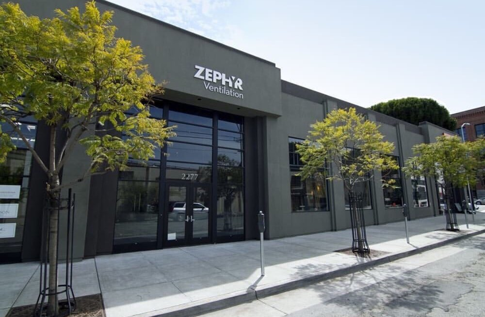 Zephyr Ventilation Showroom Gallery in San Francisco CA