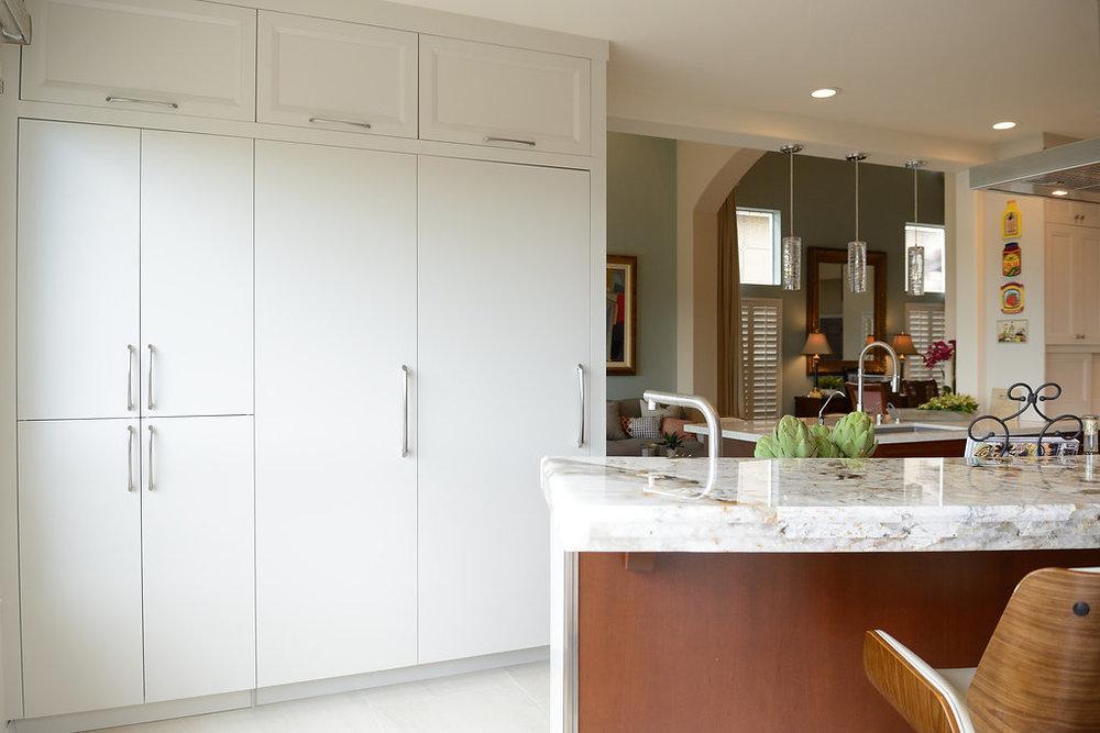 New Fully Integrated Subzero Refrigerator and Freezer Wall