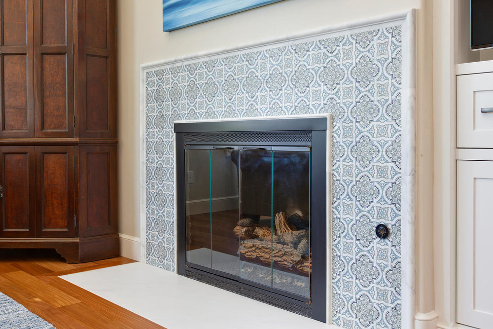 Refined elegant tile patterns see more here about our  DelMar project