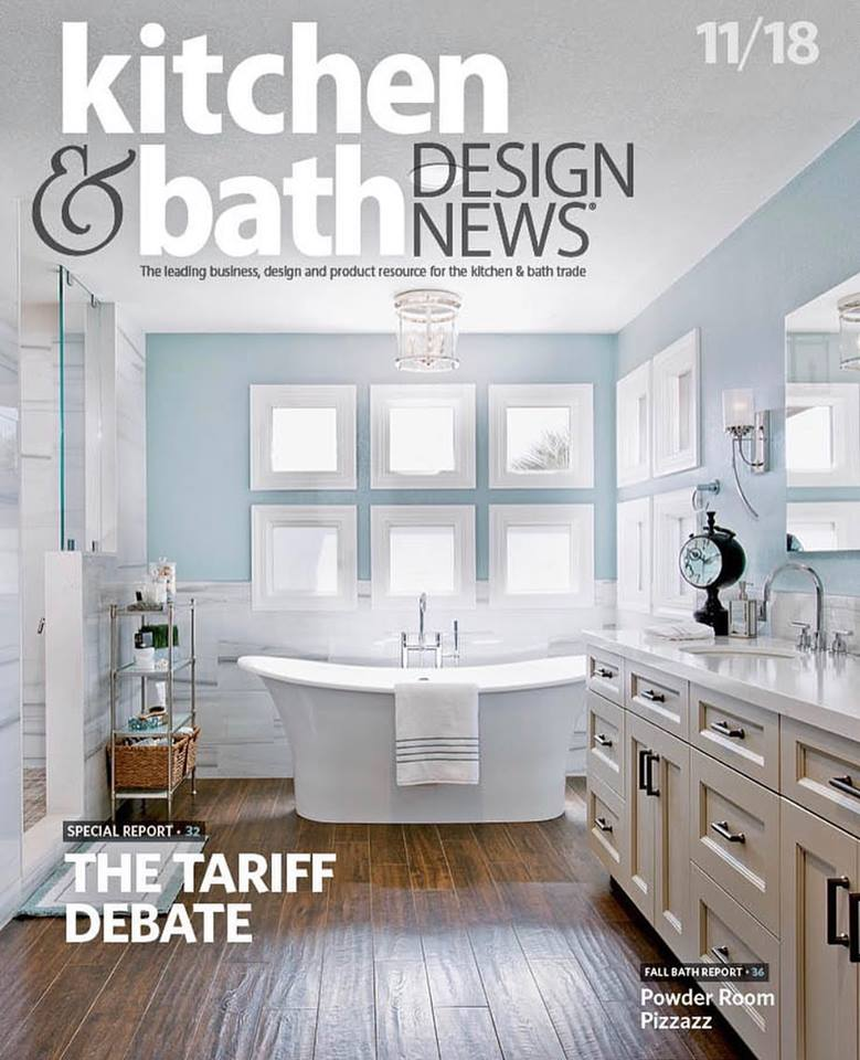 We Are Honored To Grace The Cover Of Kitchen Bath Design