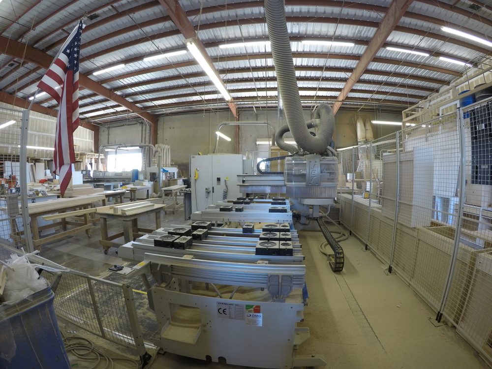 Good What It Looks Like In A Working Cabinet Factory