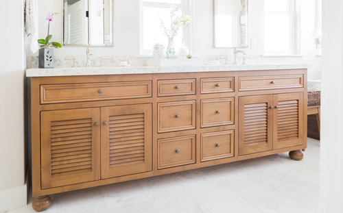 Bathroom Cabinets Ventura County native oak