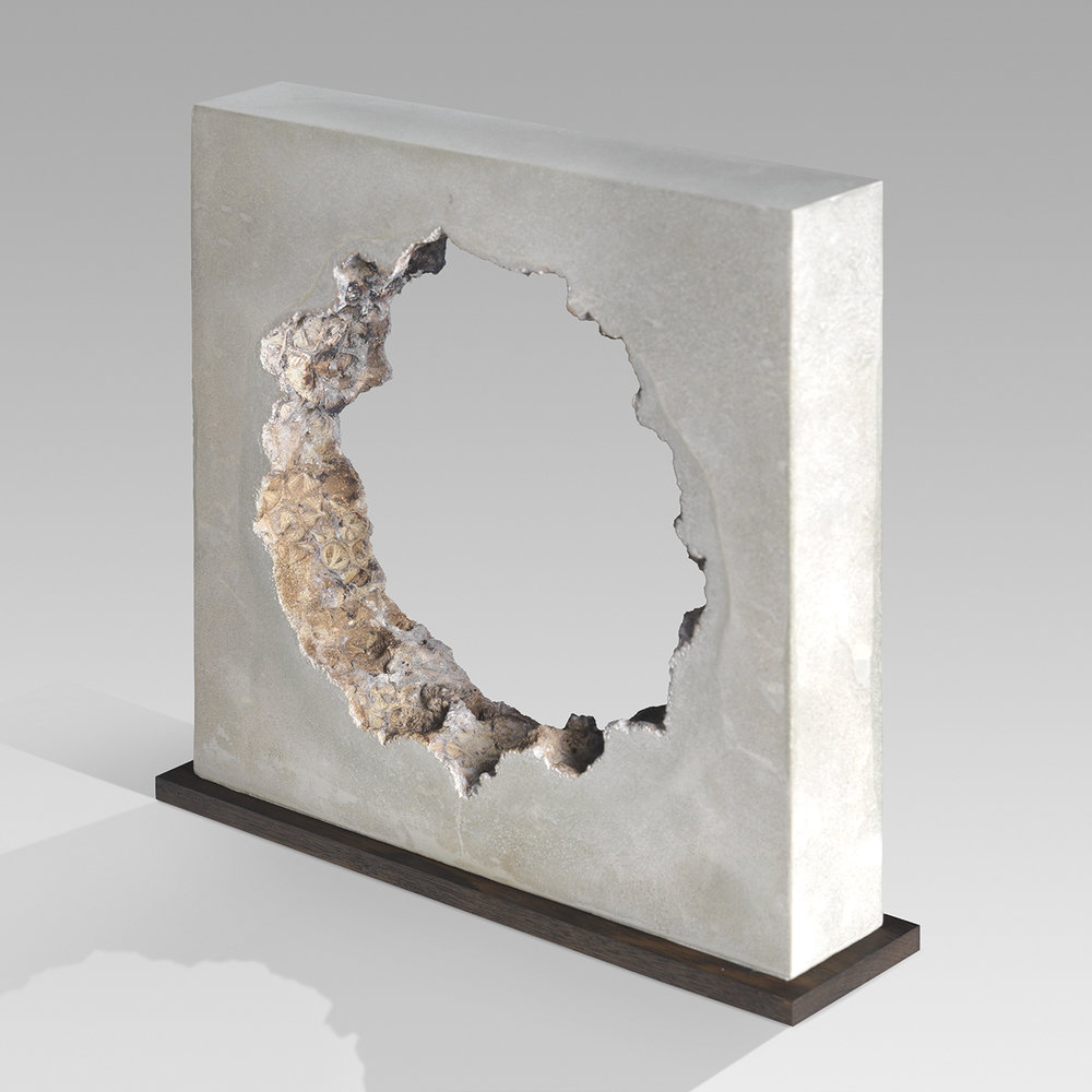 Cycles  - 32cm x 32cm x 6cm - concrete