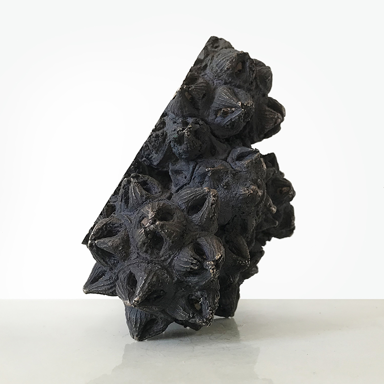 The Immortals (ii)  - 19cm x 19cm x 13cm - bronze and concrete