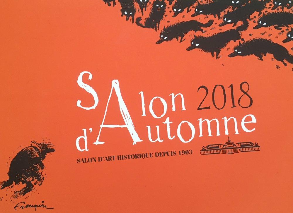 BOKIKI again at the  Salon d'Automne, Paris , OCT 24-28, 2018 PARIS