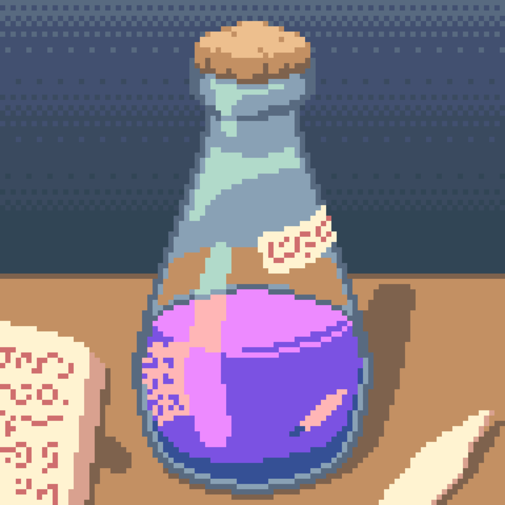 Potion Bottle (Dotpict, 16 colors)