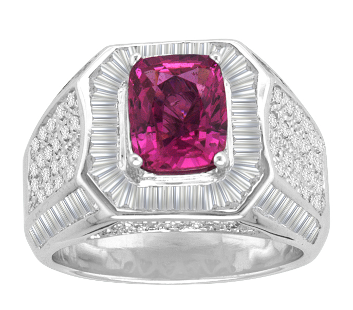 RS002 Pink Sapphire