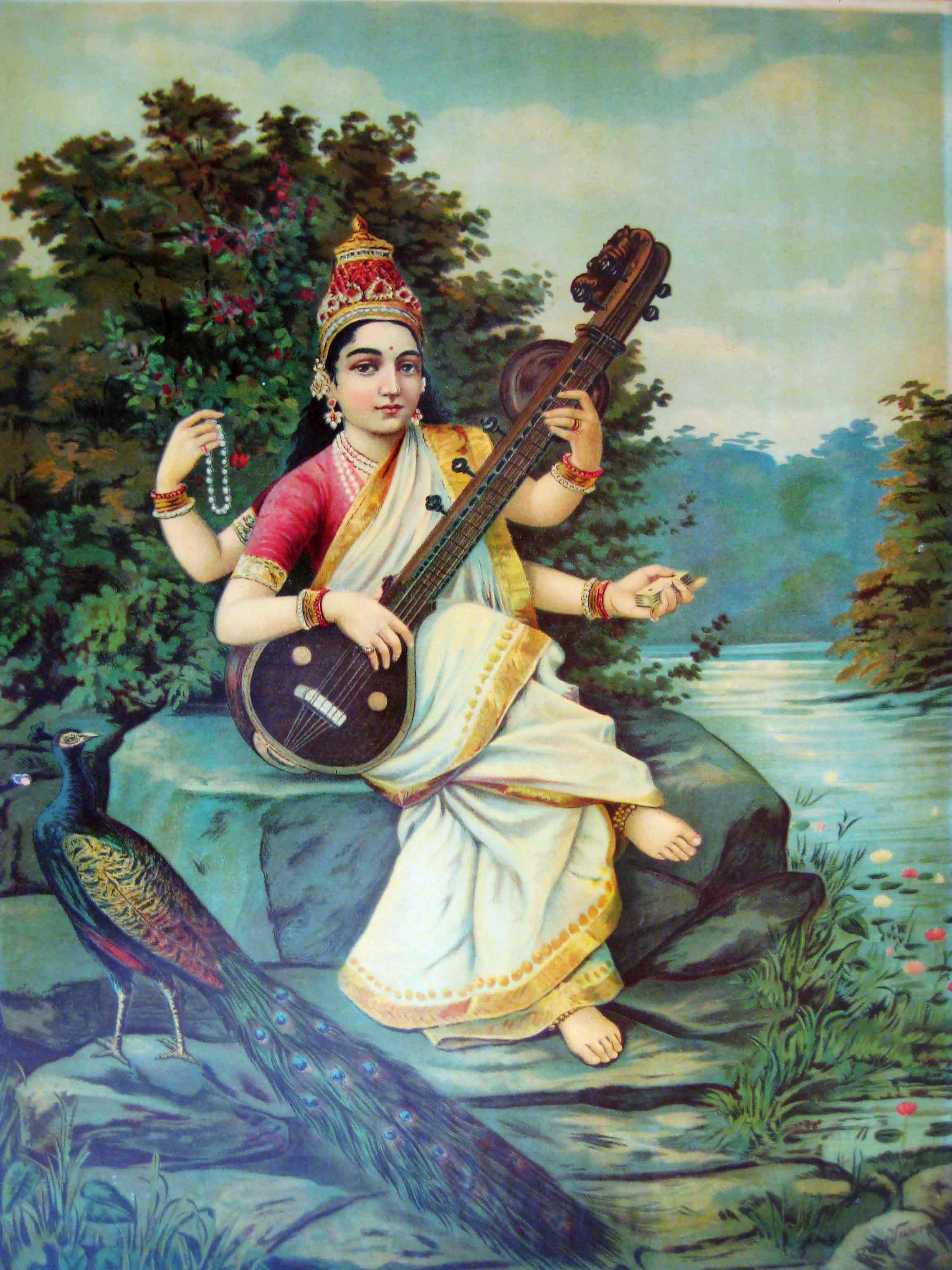 Vac, or Saraswati - Goddess of Sound