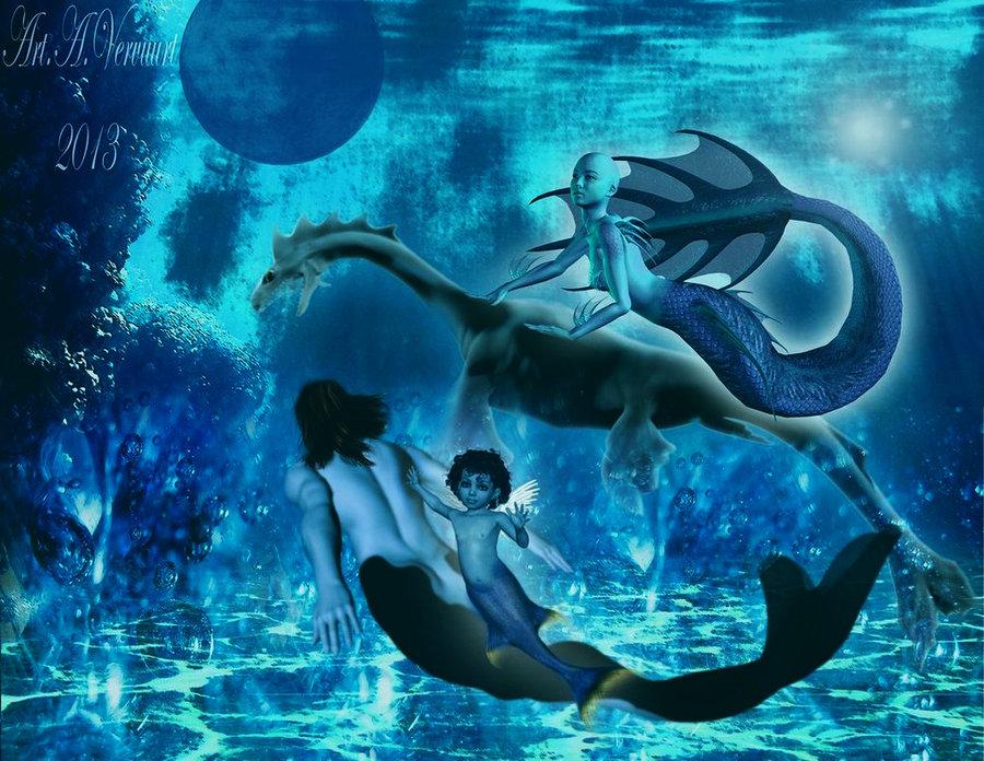 family_mermaids_by_annemaria48-d63lufs