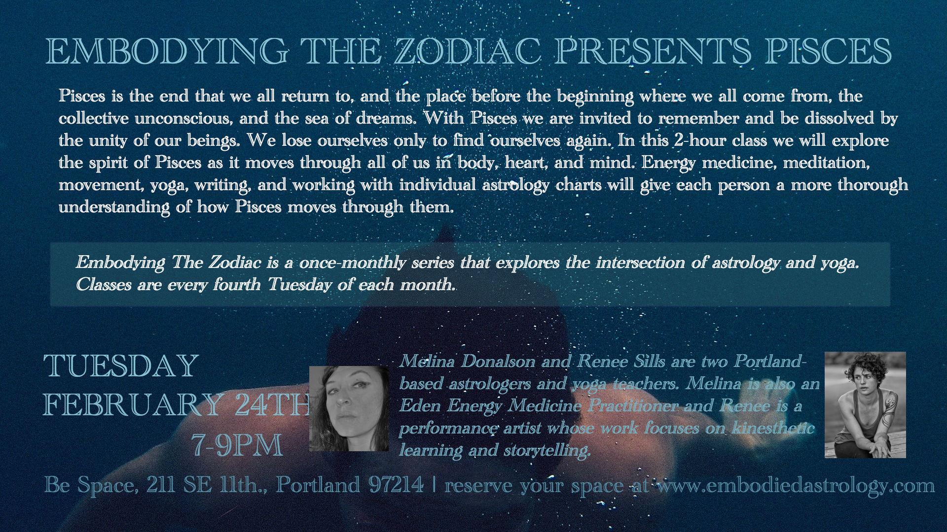 Pisces astrology class