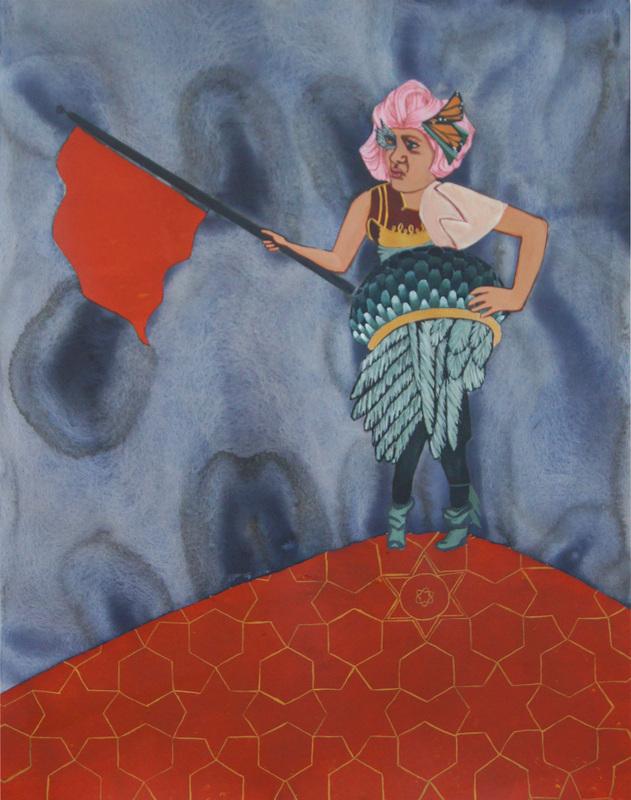 Choose your battles dearies. Artwork by LInnea Solveig