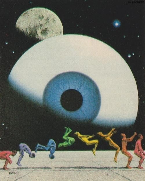 Insight and evolution on the eclipse points. Image found on Pinterest