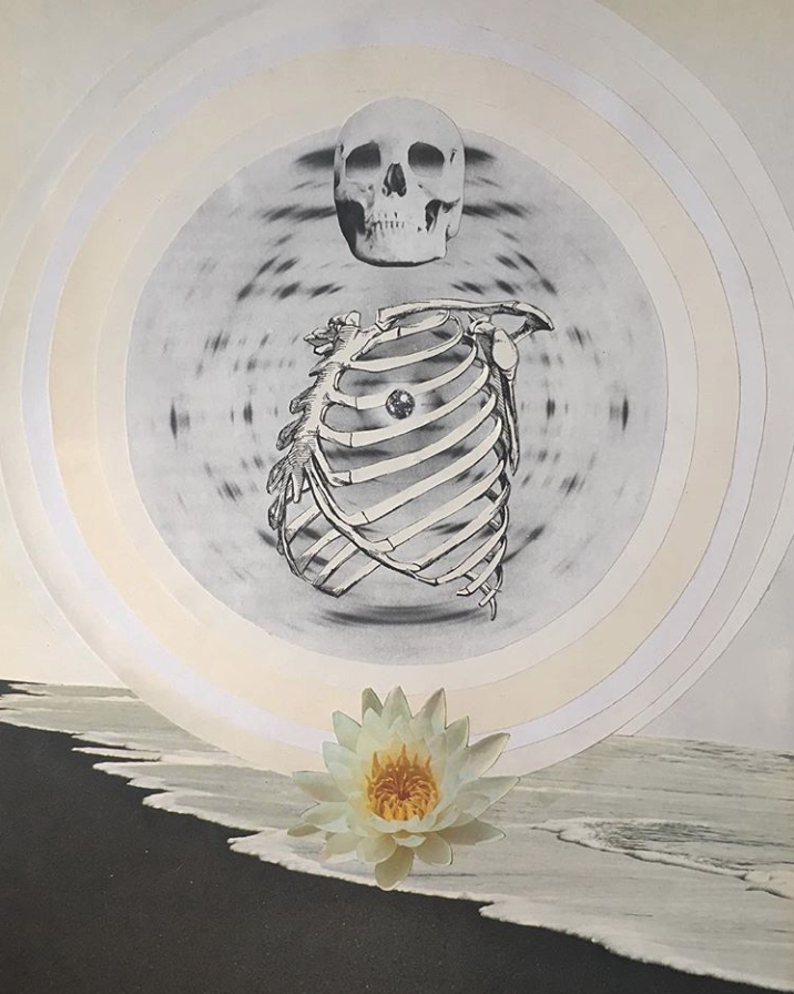 The balance of Capricorn and Cancer, beautifully interpreted by  Janna Dorothy  in 'Cage'