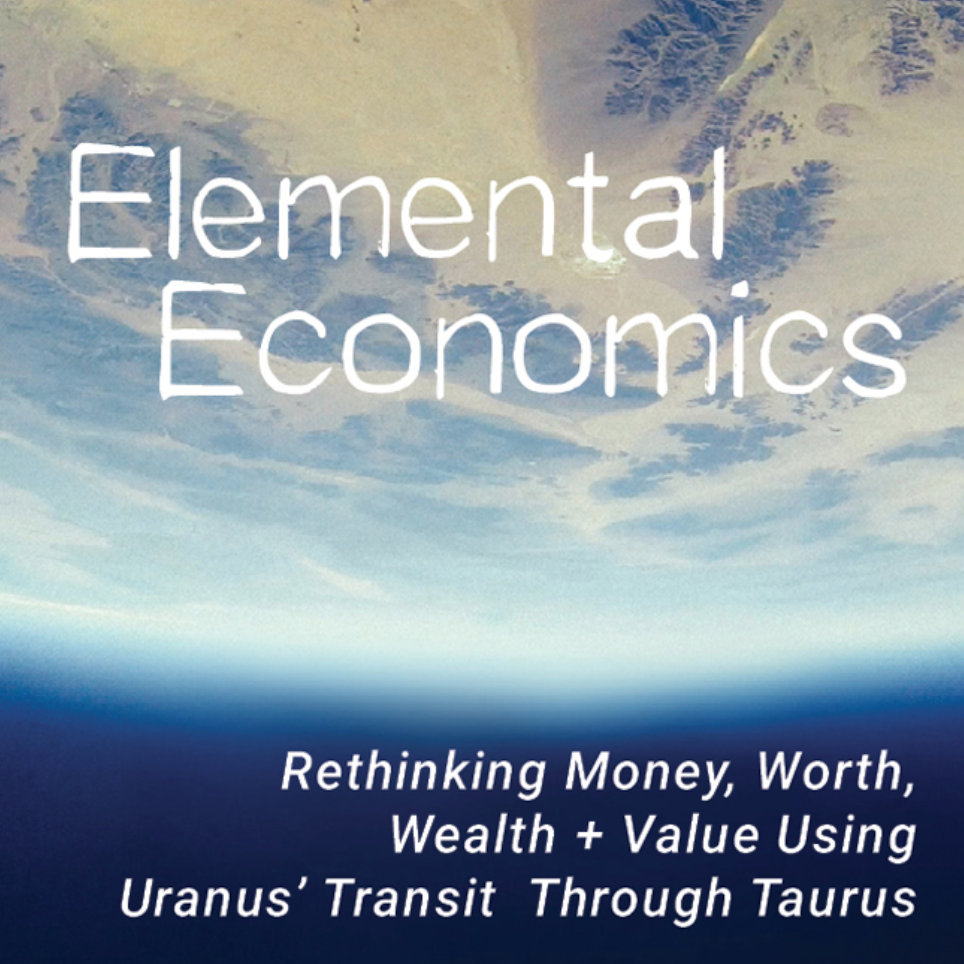 On March 6th, 2019 the planet Uranus will enter the sign Taurus where it will travel through 2026. As an astrological symbol, Uranus represents extreme change and chaos, upheaval, breakdowns and breakthroughs, innovation and awakening. Its function is to liberate us from the confines of normativity and push us into the next steps of evolutionary necessity. Taurus, as a sign, is closely associated with earth, resources, value, wealth and materiality. Its symbol represents the ways we sustain and accumulate, build our sense of self-worth, and contribute to the world through developing our value(s).  With an 84-year orbit, the last time Uranus was in Taurus was 1934-1942. As we move into this new cycle we'll be revisiting and redefining our understanding of changing economies and economic upheaval, labor, and the human and environmental impact of industrialization. With the potential to significantly alter our relationships to money and finance, this transit brings with it the opportunity to shift into a new economic paradigm and redefine value for ourselves and in our shared communities.  Please join me for a special workshop inspired by Uranus in Taurus. Given on the day of the Taurus new moon, this 2.5 hour class will include:  A ritual and meditation for Uranus in Taurus  Instruction on how to identify Uranus and Taurus in anyone's chart  Basics on Uranus' and Taurus' function in a natal chart  My interpretation of Uranus in Taurus and its association with economics and value systems  Sign-specific interpretations for Uranus in Taurus  A guide to key dates and transits of Uranus in Taurus.  Remediation practices for working with the challenges of this transit  Practical and magical methods for working with the opportunities of this transit  This workshop is offered live and online via video conference. Participants will be sent PDF handouts. IT IS NOT NECESSARY TO JOIN THE VIDEO CONFERENCE if it conflicts with your schedule or other needs. The workshop will be recorded and available for download as of May 6th.