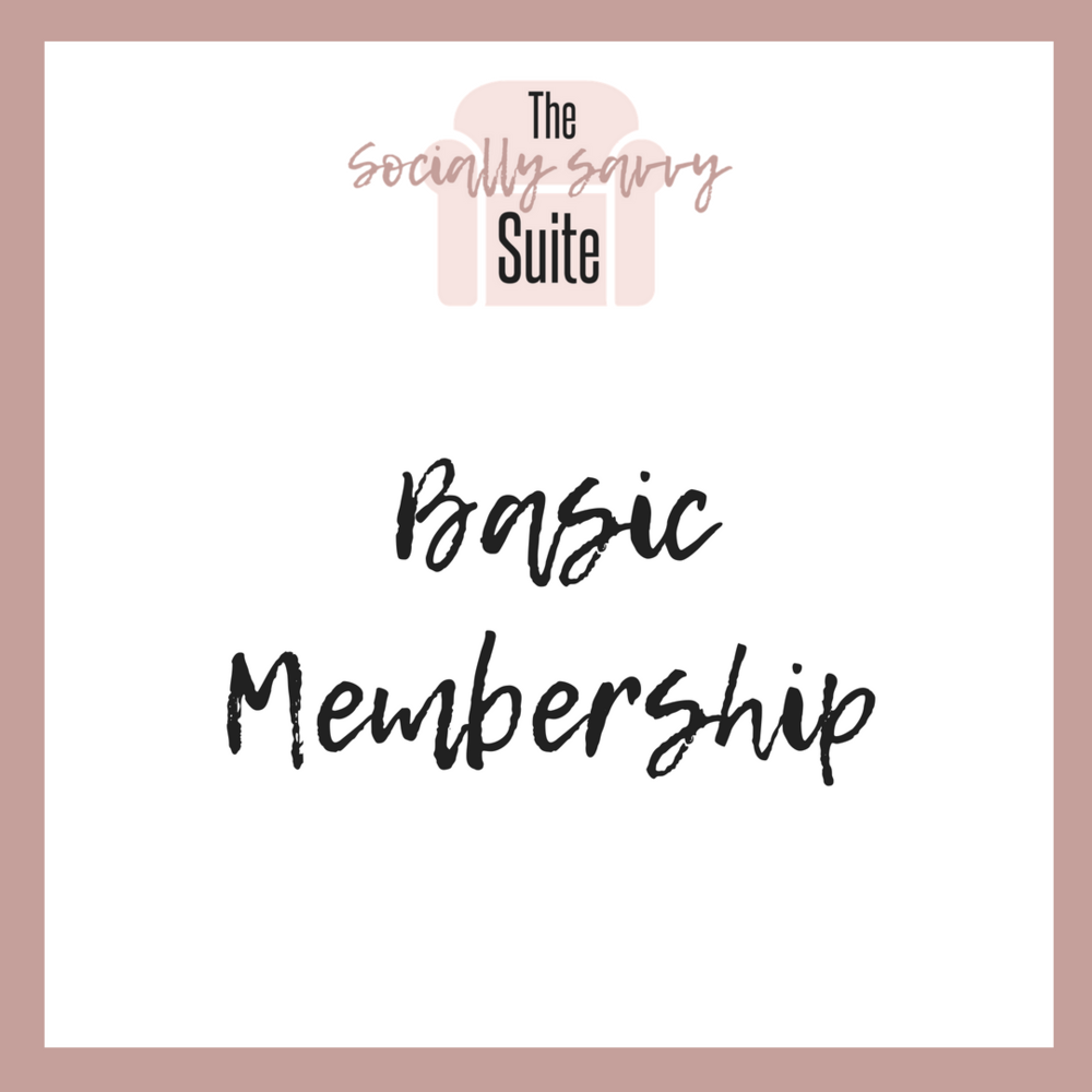 Basic Membership includes: - Each month, members at the Basic level, will have full access to:1. A list of conversation starters (to boost engagement)2. A list of empowering affirmations3. A list of motivational quotes4. 10 new inspirational graphics-text only 5. 10 new inspirational graphics-with high-quality stock photos6. A list of fill-in-the blank phrases7. A list of strong calls to action8. A list of popular hashtagsAnd much, much more!!Basic membership is only $20 per month!
