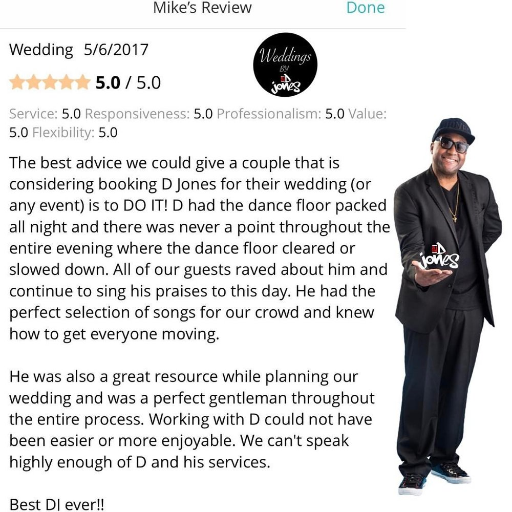 Weddings By DJ D Jones 2017 luxury review destination wedding bride mcdonalds oak brook.jpg