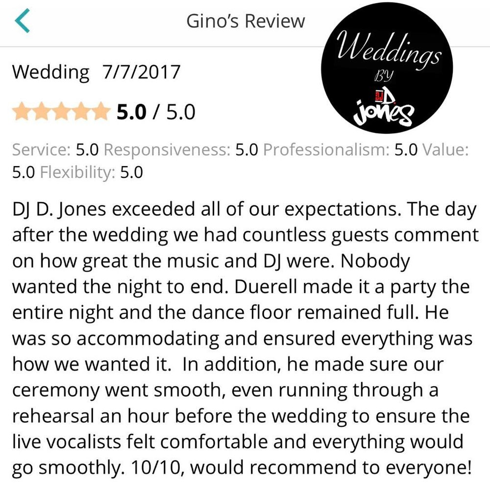 Weddings By DJ D Jones north shore winnetka luxury best 5 star review.jpg